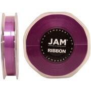 JAM PaperMD – Ruban en satin à double face, 38 po de large x 25 verges, violet, 2/pqt (803SApu25g)