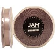 JAM PaperMD – Ruban de satin à double face, 0,38 po de large x 25 verges, argenté, 2/paquet (803SAsi25g)