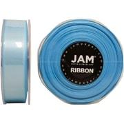 JAM PaperMD – Ruban de satin double face, 0,88 po de largeur x 25 verges, bleu clair, 2/paquet (807SAltbu25g)