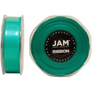 JAM PaperMD – Ruban de satin double face, 0,88 po de largeur x 25 verges, bleu sarcelle, 2/paquet (807SAtibu25g)