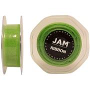 JAM PaperMD – Ruban lustré en organza, 0,88 po de largeur x 25 verges, vert pomme, 2/paquet (807SHappgr25g)