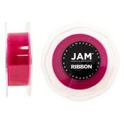 JAM PaperMD – Ruban lustré en organza, 0,88 po larg. x 25 verges long., rose vif, 2/paquet (807SHshpi25g)