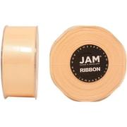 JAM PaperMD – Ruban satiné double face, 1,5 pouces de large x 25 verges, ivoire, 2/paquet (808SAiv25g)
