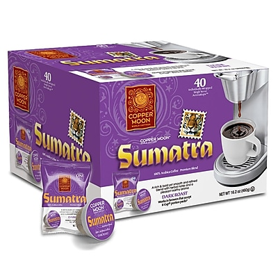 Copper Moon Sumatra Single Cup 40 count 2400150