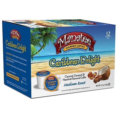 Manatee Caribbean Delight 12ct Single Cups 2400200
