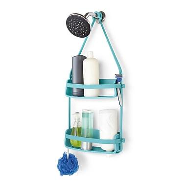 Umbra Flex Shower Caddy, Surf Blue