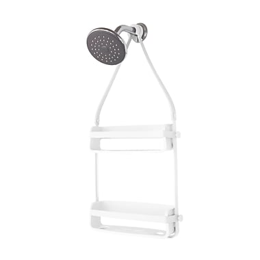 Umbra Flex Shower Caddy, White