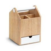 Umbra Toto Tall Storage Box White/Natural (290239-668)