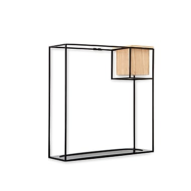 Umbra Cubist Wall Shelf Large, Black