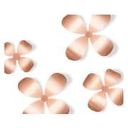 Umbra Metal Wallflower Wall Decor, Copper