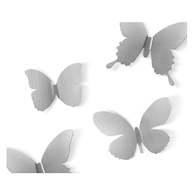Umbra Metal Mariposa Wall Decor, Nickel