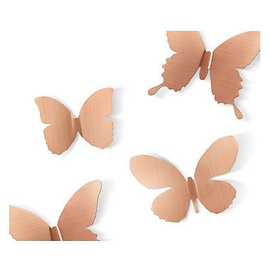 Umbra Metal Mariposa Wall Decor, Copper
