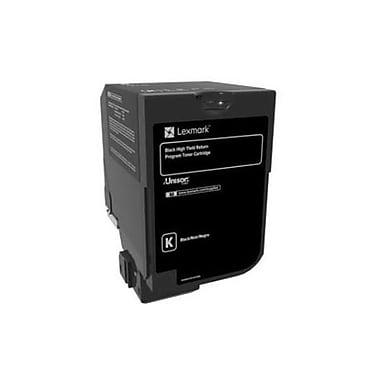 Lexmark – Cartouche de toner noire du programme de retour à rendement élevé CX725