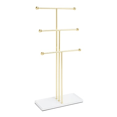 Umbra Trigem Jewellery Tree, Brass