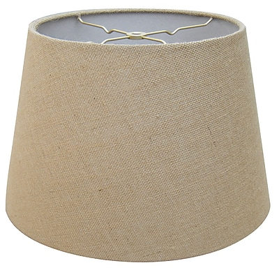 RoyalDesigns Timeless 16'' Linen Empire Lamp Shade; Linen Eggshell