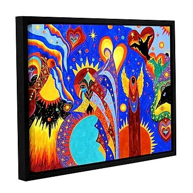 ArtWall Angel Fire by Marina Petro Framed Painting Print; 18'' H x 24'' W