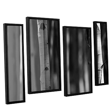 ArtWall A Way Out by Mark Ross 4 Piece Framed Photographic Print Set; 24'' H x 36'' W x 2'' D