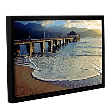ArtWall A Land Called Hanalei by Kathy Yates Framed Photographic Print; 12'' H x 18'' W