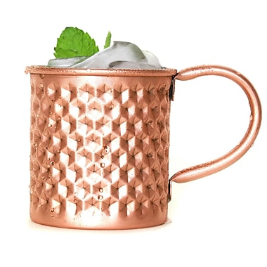 MarktSq The Hex Hammered Moscow Mule Mug