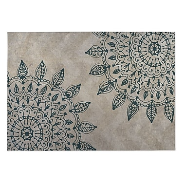 Kavka Beige Indoor/Outdoor Doormat; 5' x 7'