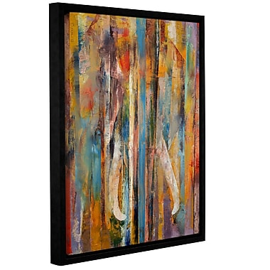 ArtWall Elephant by Michael Creese Framed Painting Print on Wrapped Canvas; 24'' H x 32'' W