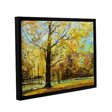 ArtWall Shades of Autumn by Michael Creese Framed Painting Print on Wrapped Canvas; 18'' H x 24'' W