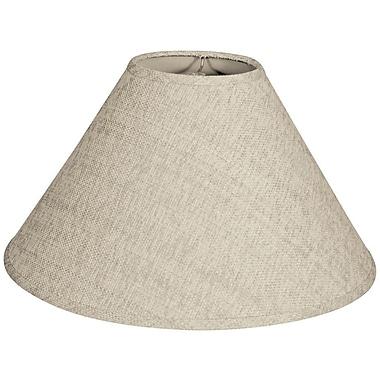 RoyalDesigns Timeless Coolie 12'' Linen Empire Lamp Shade; Linen Cream