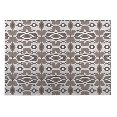 Kavka Mojave Brown Indoor/Outdoor Doormat; 5' x 7'
