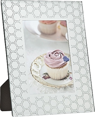 Philip Whitney Honeycomb Glitter Picture Frame WYF078277890065
