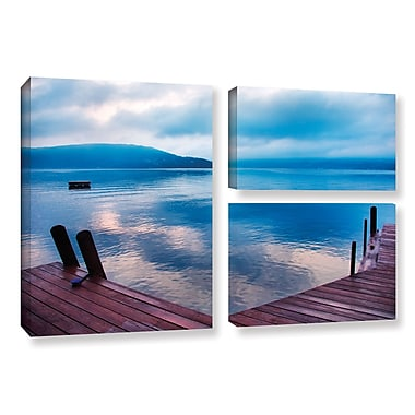 ArtWall Interlude Filtered by Steve Ainsworth 3 Piece Photographic Print on Wrapped Canvas Set