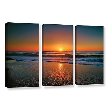 ArtWall Morning Has Broken Ii by Steve Ainsworth 3 Piece Photographic Print on Wrapped Canvas Set