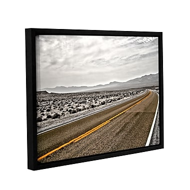 ArtWall Slow Curves by Mark Ross Framed Photographic Print; 14'' H x 18'' W