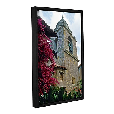 ArtWall Mission Tower by Kathy Yates Framed Photographic Print; 24'' H x 36'' W