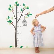 The Decal Guru Tree Growth Chart Wall Decal; Color Option 3
