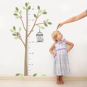 The Decal Guru Tree Growth Chart Wall Decal; Color Option 5