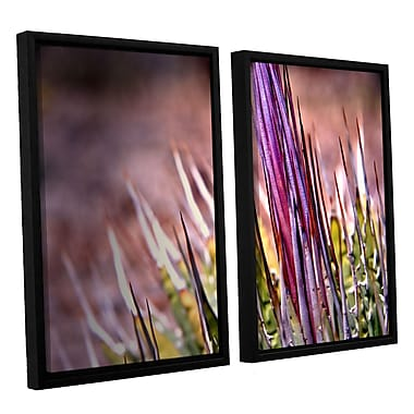 ArtWall Agave by Mark Ross 2 Piece Framed Photographic Print Set; 24'' H x 36'' W x 2'' D