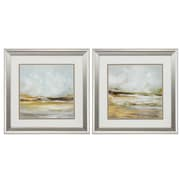 Propac Images Soft Light 2 Piece Framed Painting Print Set