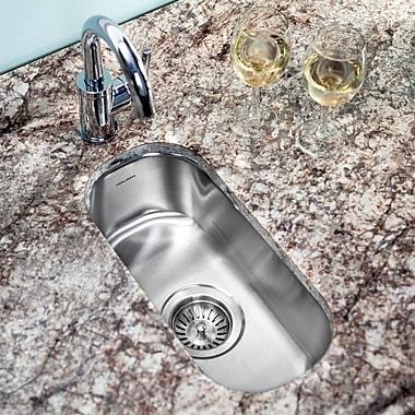 Houzer Club 17.94'' x 9.31'' Undermount Element Bar Sink