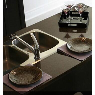Houzer Legend 31.88'' x 17'' Topmount Corner Bowl Kitchen Sink