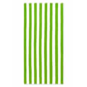 Crover Cabana Stripe Beach Towel (Set of 2); Lime Green
