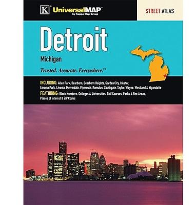Universal Map Detroit MI Atlas