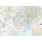 Universal Map Northern Virginia/Fairfax Co Virginia Wall Map
