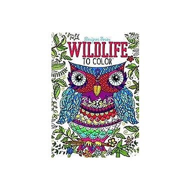 Universal Map Adult C&A Wildlife to Color