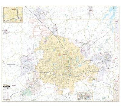 Universal Map Winston-Salem NC Wall Map