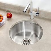 Houzer Club 17.5'' x 17.5'' Undermount Round Bar Sink