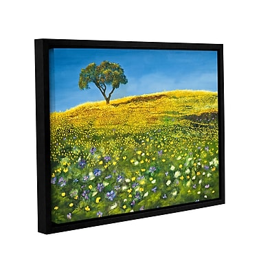 ArtWall Golden Meadow by Marina Petro Framed Painting Print; 36'' H x 48'' W