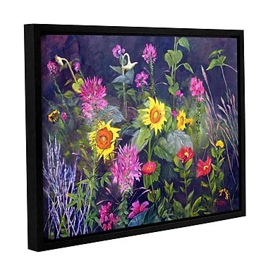 ArtWall Out Of Darkness by Marina Petro Framed Painting Print; 24'' H x 32'' W
