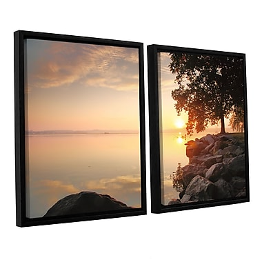 ArtWall Renewal by Steve Ainsworth 2 Piece Framed Photographic Print Set; 32'' H x 48'' W x 2'' D