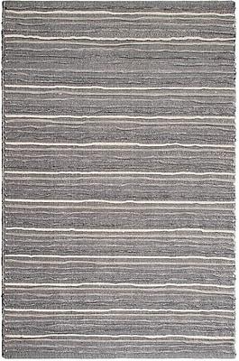 Fab Habitat Estate Hand-Woven Gray Area Rug; 8' x 10'