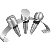 Visol Products Barlow Stainless Steel Wine Stopper Set